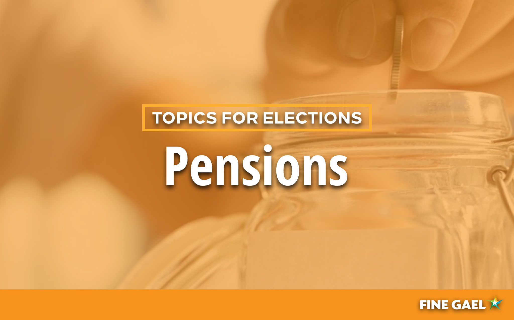 Topics for Elections - Pensions