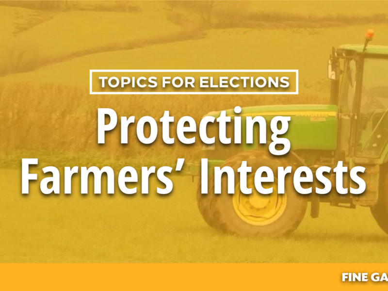 Topics for Elections - Farmers